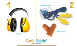 tipos de protecciones auditivas
